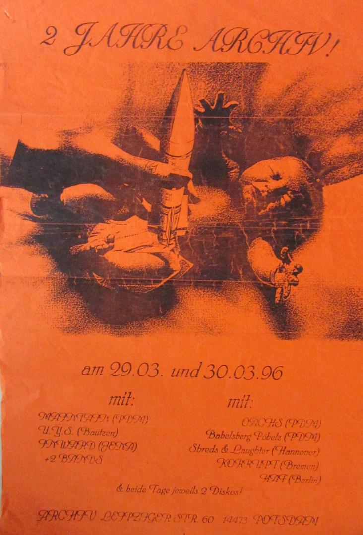 2 Jahre Archiv - Plakat 2